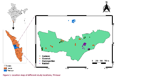 View of Species composition and abundance estimates of reptiles in